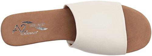 Sandalo Con Scivolo Per Girasole Aerosoles Donna Bianco