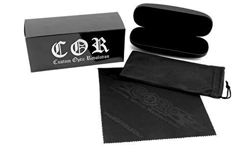 De Unique Noir Homme argent Noir Cor Lunettes Soleil Taille 8fqcXX5