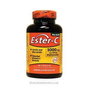 American Health - Ester-C with Citrus Bioflavonoids - 1000 mg. 90 Caps