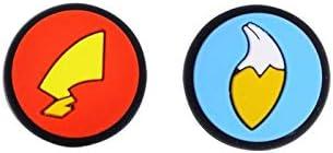 KEHUITONG ポケモンモンスターテールNintendスイッチライトNSミニコントローラーゲームJoyConケースを処理するために (色 : 銀)