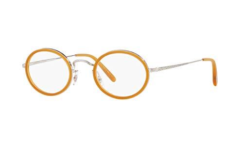 Oliver Peoples MP-8 OV1215 - 5063 Eyeglass Frame 30TH SEMI MT AMBER, BRUSHED SI ()