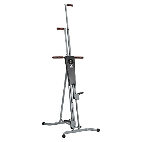 ZELUS Vertical Climber Machine Fitness Climbing Equipment for Home Gym Step Climber Exercise Machine by Z ZELUS