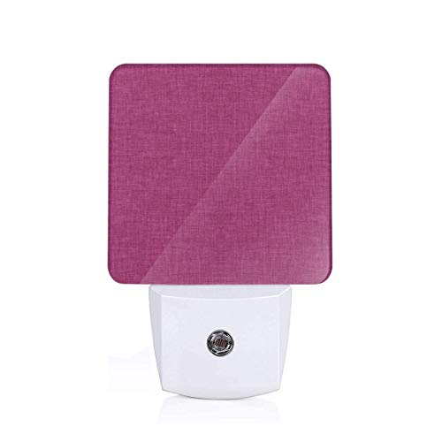 (Linen Orchid Plug-in LED Night Light with Dusk-to-Dawn Sensor for Bedroom Bathroom Kitchen Hallway Stairs Daylight White-EU)