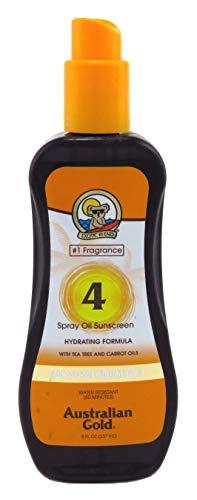 Australian Gold Oil - Australian Gold Spf#04 Spray Oil 8 Ounce (Carrot Oil Formula) (235ml) (2 Pack)