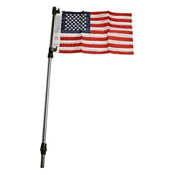 Amazon Com Seasense Telescopic Flag Pole Sports Amp Outdoors