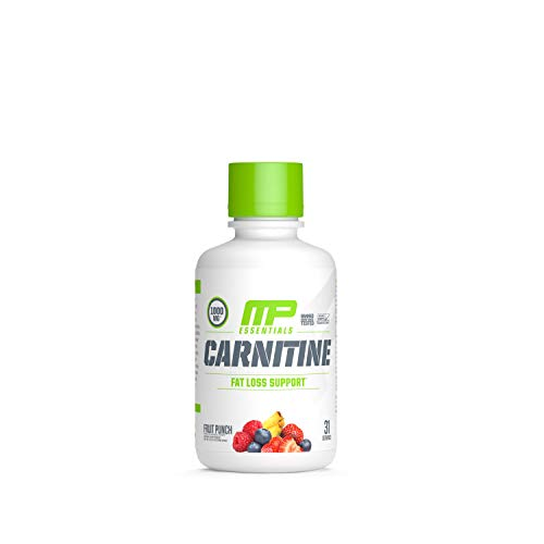 Muscle Pharm Carnitine Essentials Liquid 31 Servings Fruit Punch, 1.15 Pound