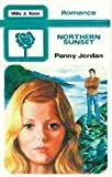 Northern Sunset by Penny Jordan front cover