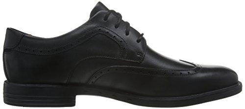 Clarks Formal Hombre Zapatos Unbizley Limit En Piel Negro