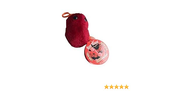 Amazon.com: Giant Microbes Sore Throat Plush Key Chain by GIANTMicrobes: Toys & Games