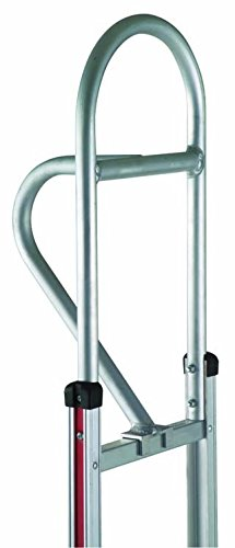 Magliner 300978 Aluminum Vertical Loop Hand Truck Handle for Hand Truck with Straight Frame, 40'' Length, 12'' Height, 14'' Width