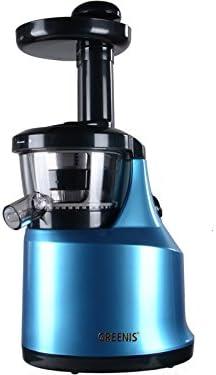 Greenis Slow Juicer f-9007 in Metallic Blue by Greenis: Amazon.es