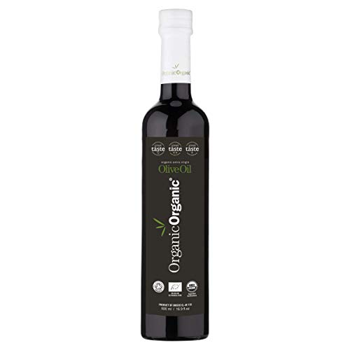 Organic Extra Virgin Olive Oil Great Taste 2019 MULTI Award Winner Cold Pressed Double Organic Certification Early…