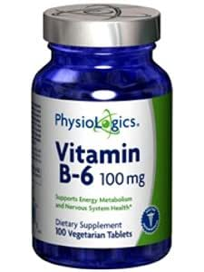 Amazon.com: physiologics Vitamina B-6 100 mg: Health ...