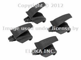 BMW Genuine Rear Door Window Shade Rollor Sun Blind Visor Hooks X5 Series E53 for X5 3.0i X5 4.4i X5 4.6is X5 - Shade Hooks Window