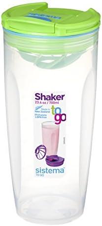 Sistema Shaker pp to go lt 0,7, farblich sortiert