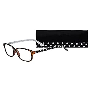 SAV Eyewear (Select-A-Vision) Victoria Klein Fashion Square Reading Glasses 9082 White, 2.00