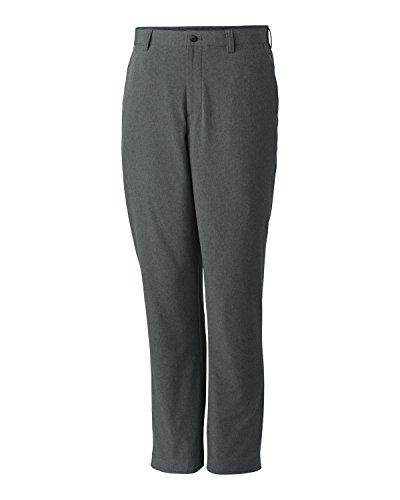 Cutter & Buck Mens Big And Tall Front Slash Pockets Pant, Iron, 40x38 by Cutter & Buck