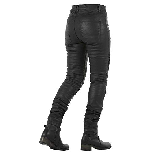 Jeans Ruta Overlap 24 Talla Stradale Mujer Negro Homologados USq765wq