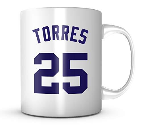(Gleyber Torres Mug - New York Baseball 11 oz Coffee Cup)