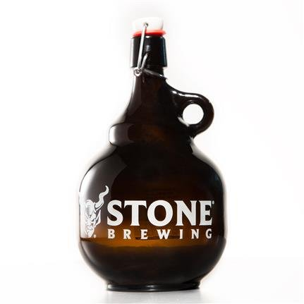 Stone Brewing Co. Swing Top 2 Liter Beer Growler by Stone Brewing Co. (Image #1)