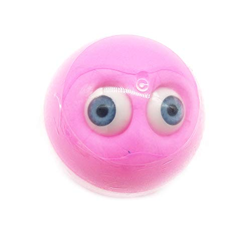 Halloween Clearance, Eyeball Colours Mixing Cloud Slime Putty Scented Stress Kids Clay Toy (Pink) ()