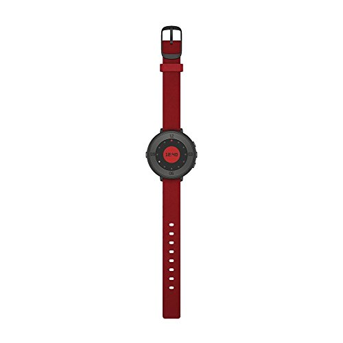 Pebble Time Round 14mm Smartwatch for Apple/Android Devices - Black/Red by Pebble Technology Corp (Image #6)