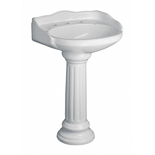 Pegasus Vicki 22 in. Pedestal Lavatory Sink Combo in ()