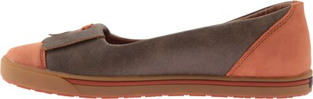 Brown WCA0001 Womens Casual Twisted Kiltie X Leather Shoes Rubber Sunburn 6fPzfq8