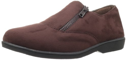Propet Women's Shannon Loafer Brown Velour