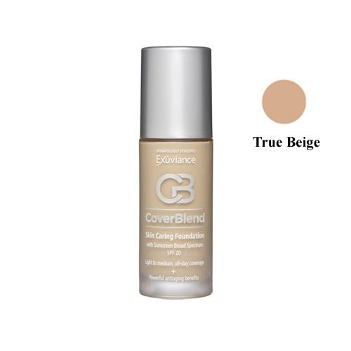 Exuviance Skin Caring Foundation SPF 20 True Beige by (Neostrata Skin Foundation)