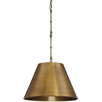 Savoy House 7-131-1-322 Alden 1-Light Pendant in Warm Brass