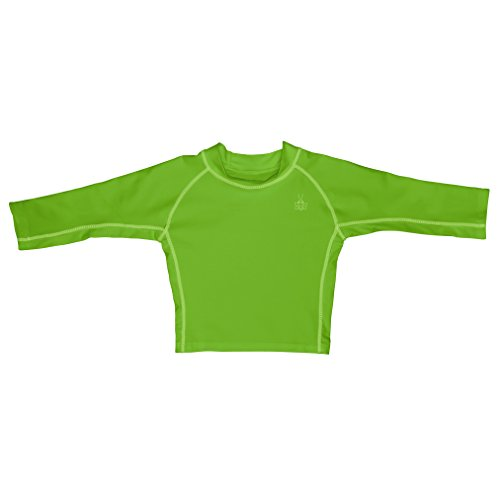 i play. Toddler Long Sleeve Rashguard, Lime, 3T
