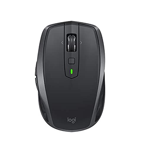 - 31NmoHz4feL - Logitech MX Anywhere 2S Wireless Mouse – Use on Any Surface, Hyper-Fast Scrolling, Rechargeable, Control up to 3 Apple Mac and Windows Computers and Laptops (Bluetooth or USB), Graphite