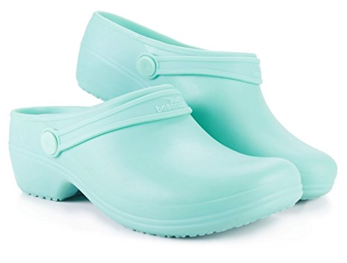 Green Womens Clogs (Boaonda Bio Syntethic Clogs (10, Light Green))