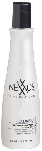 Nexxus Headress Thickening Leave-In Volumizer Conditioner, Packaging May Vary, 13.5-Ounce Bottle by Nexxus