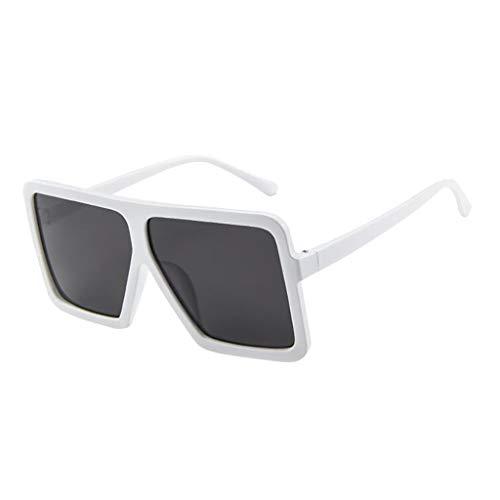 iNoDoZ Oversized Square Sunglasses Women Men Vintage Retro Glasses Unisex Big Frame Eyewear