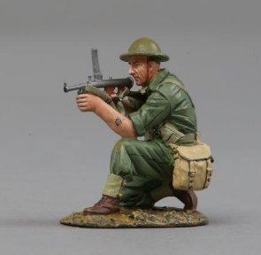Thomas Gunn Miniatures RS034B Australian Army Owen Gunner - Tin Lid
