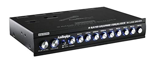 Audiopipe 9 Band Equalizer by Audiopipe