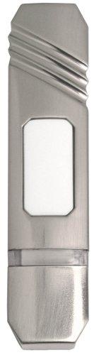 (Heath Zenith SL-6201 Wireless Pushbutton, Satin Nickel)