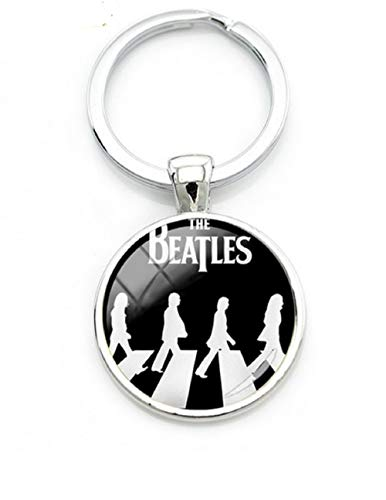 The Beatles Inspired Abbey Road John Lennon,Paul McCartney,George Harrison, Ringo Star Key Chain.Perfect for Nostalgic Fans of Come Together (Paul Mccartney Itunes Live From Capitol Studios)