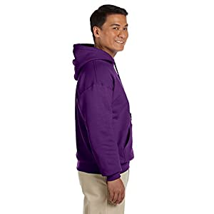 Gildan Men's Heavy Blend Hooded Sweatshirt X-Large Purple