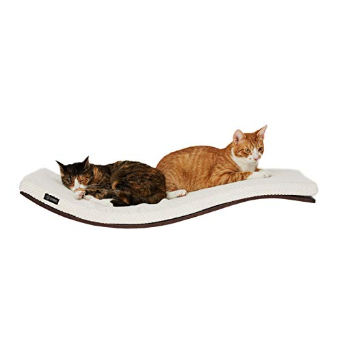 - COSY AND DOZY Cat Perch   Cat Shelves   Wall Mounted Cat Bed   Cat Tree   Big cat Window Seat   35 in x 16 in (Wenge)