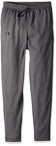 Under Armour Boys' Brawler Tapered Pants, Graphite /Black, Youth ()