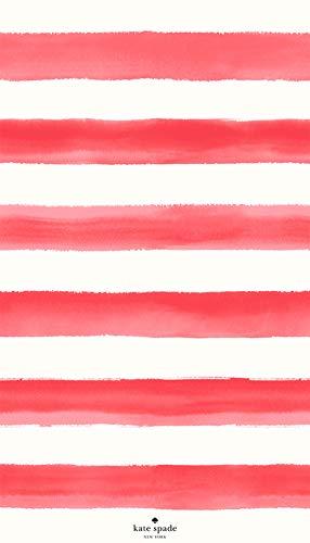 Kate Spade New York Watercolor Beach Towel, Pink Color, 40x70 inch