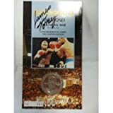 Signed Toney, James MGM Grand 1994 Limited Edition Commemorative Token autographed