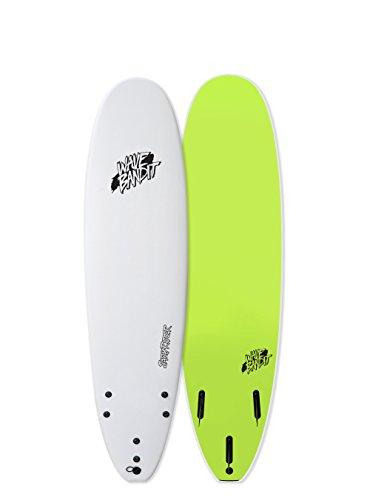 Catch Surf Wave Bandit EZ Rider 7'0'' Short Surf Board, White by Catch Surf