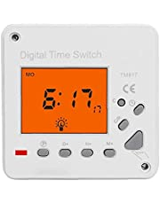 Digital Electronic Timer 220V Switch Timer Backlight Large LCD Display TM617-2 Smart Control for Household Appliance Advertising Board Road Lamp Neon Light Power Distribution Control