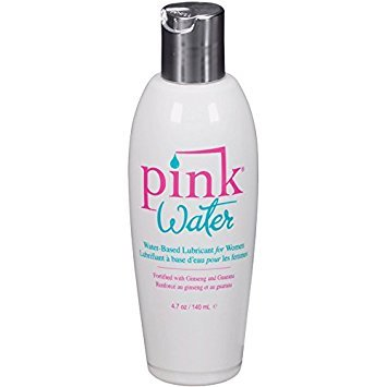 Pink Water Based Personal Lubricant for Women Purified Water Formulated Long Lasting: Size 4.7 Oz. / 140 Ml