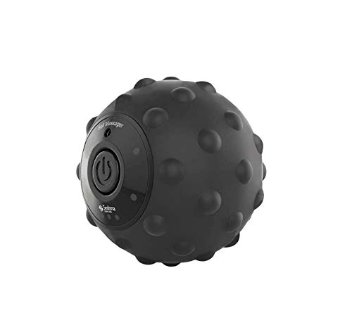 Sedona, 4 Speed Vibrating Massage Ball, Rechargeable Textured Foam Roller, Muscle Tension Pain and Pressure Relieving…