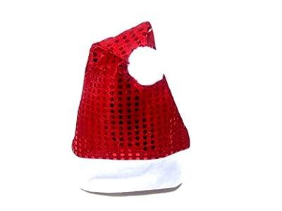 Christmas Hat Headband Reindeer Antlers Santa Hair: H14 (Santa Hat - Red)